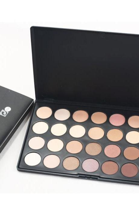 High quality Pro Makeup 28 Color Nude Eye Shadow Palette in box HOT